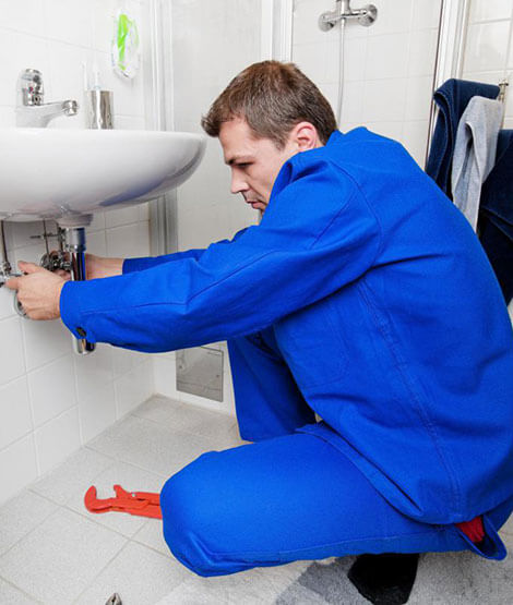 plumber in uniform
